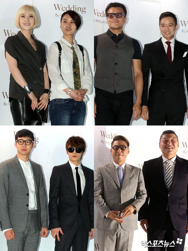 """Đám cưới ca sĩ """"Secret Garden"""" lên top Naver vì như """"bê"""" nửa Kbiz đến chung vui: Yoo Jae Suk, Park Bo Young, Sistar, cả chủ tịch JYP tụ họp đủ - ảnh 5"""