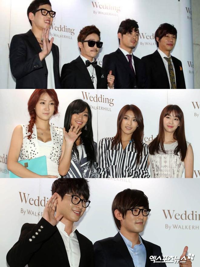 """Đám cưới ca sĩ """"Secret Garden"""" lên top Naver vì như """"bê"""" nửa Kbiz đến chung vui: Yoo Jae Suk, Park Bo Young, Sistar, cả chủ tịch JYP tụ họp đủ - ảnh 6"""