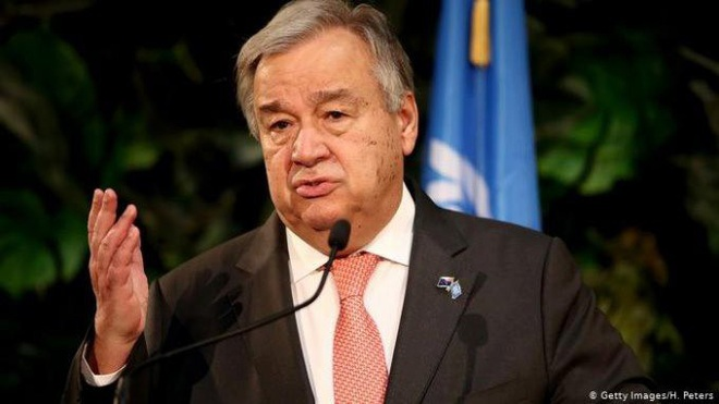 Liên Hợp Quốc kêu gọi người Mỹ biểu tình ôn hòa - ảnh 1