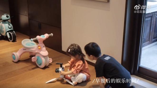 Vợ chủ tịch Taobao lần đầu tiên đưa cả 2 con vào vlog riêng và liên tục khoe nhẫn ở ngón áp út ẩn ý tình trạng của vợ chồng - ảnh 4