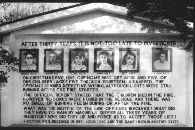 Vụ hỏa hoạn gây đau đầu nhất lịch sử nước Mỹ: 5 đứa trẻ biến mất, còn sót lại mảnh gan bò cùng một chút xương và bí ẩn 75 năm không có lời giải - Ảnh 8.