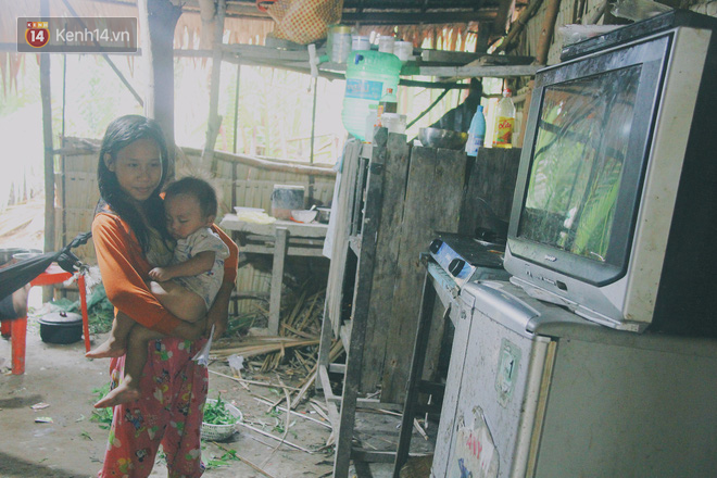 """5 đứa trẻ đói ăn bên người mẹ khờ mang bụng bầu 7 tháng: """"Con không muốn mẹ sinh em nữa, nhà con nghèo lắm rồi"""" - Ảnh 5."""