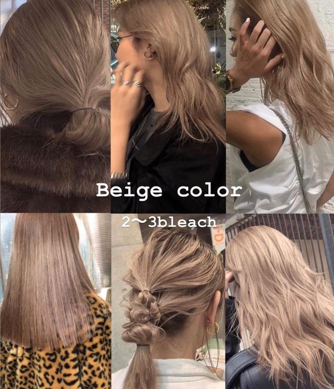 """Hè này mà chơi màu beige cho tóc thì bạn không chỉ xinh """"ngọt"""" mà visual cũng """"lên mây"""" - Ảnh 1."""
