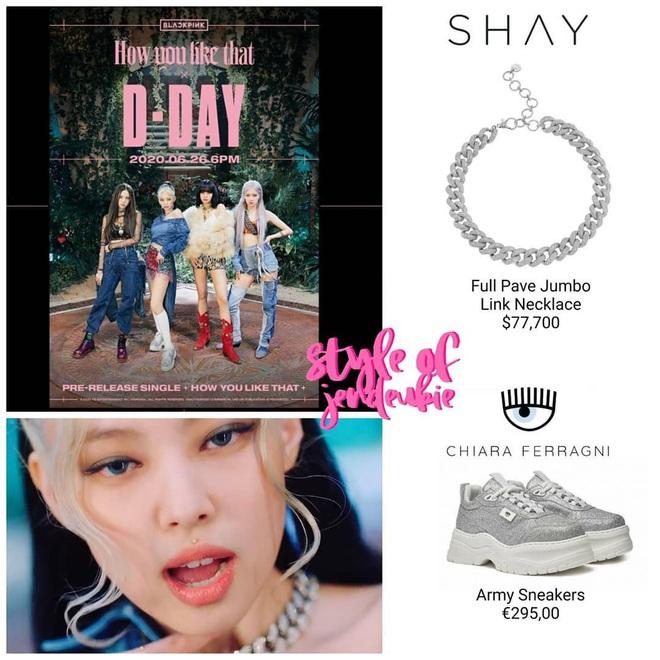 Tổng giá trị trang phục của Black Pink trong MV mới là 3,3 tỷ nhưng riêng đồ cho Jennie đã 2,5 tỷ - Rosé tiếp tục là người thiệt thòi nhất? - Ảnh 1.
