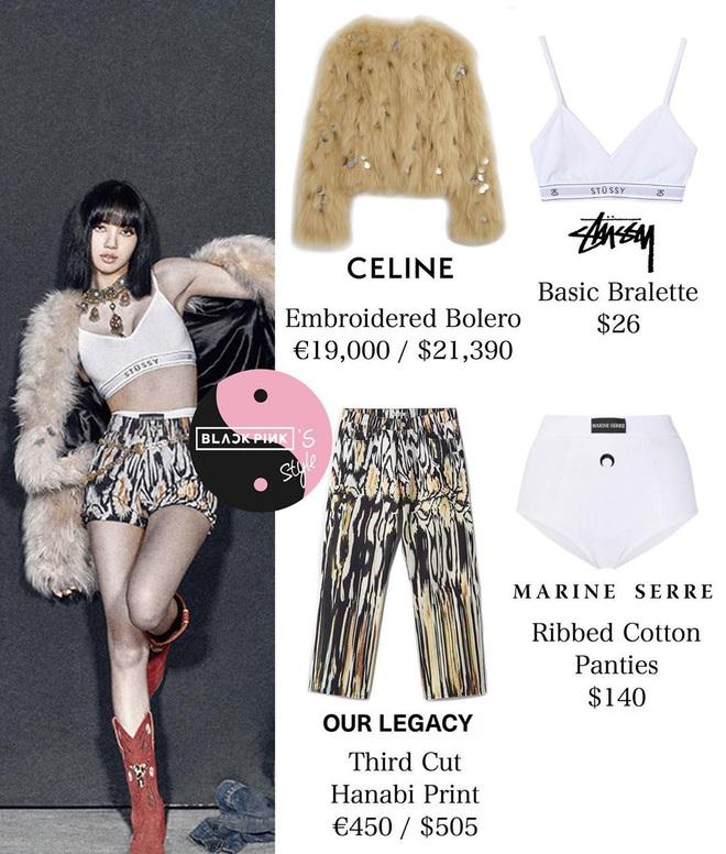 Tổng giá trị trang phục của Black Pink trong MV mới là 3,3 tỷ nhưng riêng đồ cho Jennie đã 2,5 tỷ - Rosé tiếp tục là người thiệt thòi nhất? - Ảnh 6.