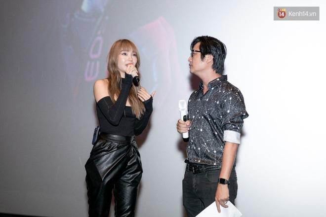 Minh Hằng tuyên bố không ngại đối đầu BLACKPINK, tự đoán lá thư nặc danh chỉ là trò đùa ở họp báo web drama mới - ảnh 4