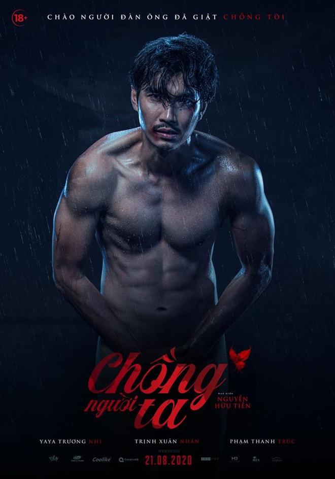 Ngượng chín mặt với cảnh Yaya Trương Nhi tắm bồn, trai đẹp sáu múi khỏa thân dầm mưa ở teaser Chồng Người Ta - ảnh 1