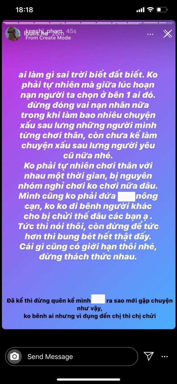 Stylist cũ của Quỳnh Anh Shyn nhập hội với Chi Pu, đăng story cực căng về ai đó làm nhiều chuyện xấu nhưng đang đóng vai nạn nhân - ảnh 4