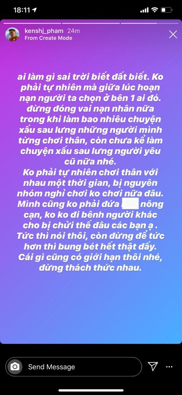 Stylist cũ của Quỳnh Anh Shyn nhập hội với Chi Pu, đăng story cực căng về ai đó làm nhiều chuyện xấu nhưng đang đóng vai nạn nhân - ảnh 3