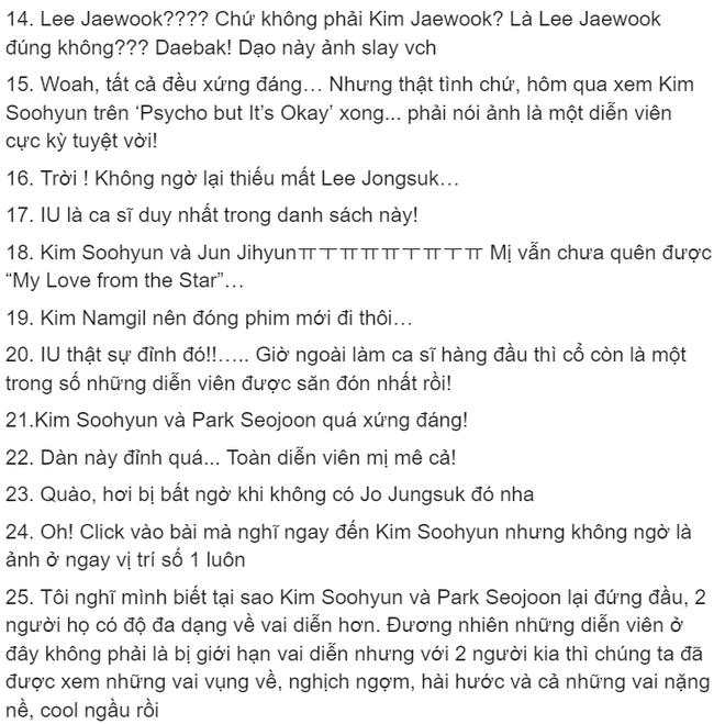 Top diễn viên truyền hình được săn đón nhất xứ Hàn: Kim Soo Hyun vượt Hyun Bin, Lee Min Ho còn không được nhắc đến - ảnh 5