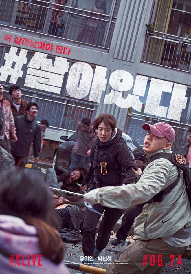 #ALIVE của Yoo Ah In - Park Shin Hye oanh tạc phòng vé Hàn, netizen Việt háo hức đòi được xem - ảnh 1