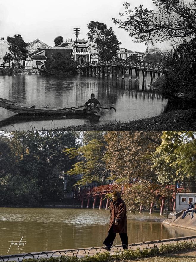 """Chàng trai 25 tuổi dành 7 năm chụp bộ ảnh """"Hà Nội 100 năm trước"""": Vì thời gian là thứ không thể lấy lại được - Ảnh 6."""