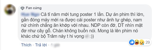 Poster Thanh Trâm Hành bị chê hết lời, Ngô Diệc Phàm lẫn Dương Tử đơ như tượng sáp - ảnh 5
