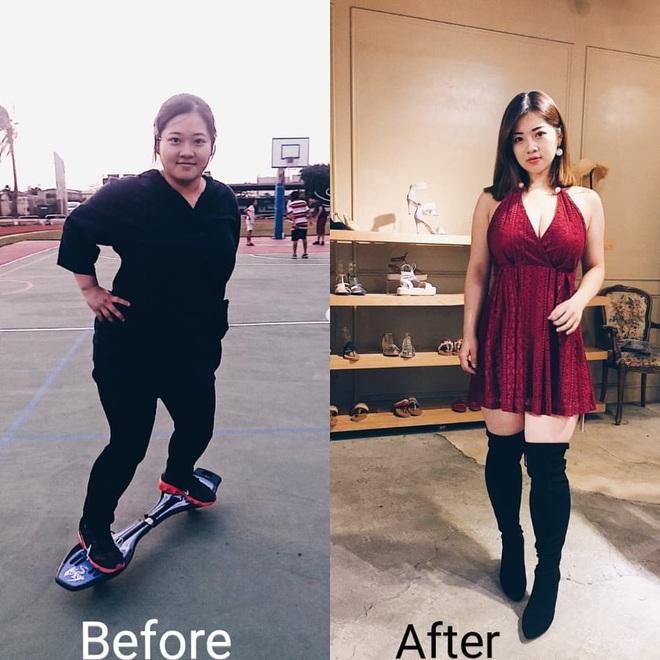 Từng nặng gần 90kg, cô bạn người Đài Loan giảm một lèo xuống 63kg nhờ kế hoạch siết cân khoa học - ảnh 5