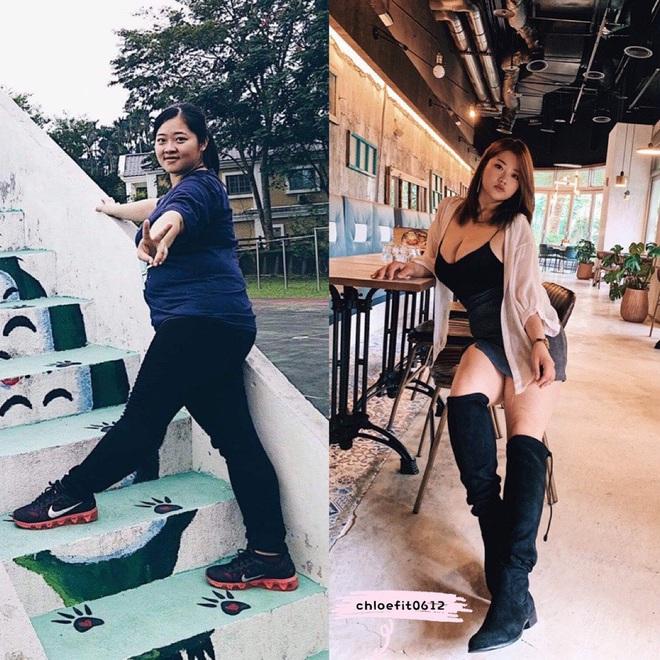 Từng nặng gần 90kg, cô bạn người Đài Loan giảm một lèo xuống 63kg nhờ kế hoạch siết cân khoa học - ảnh 4