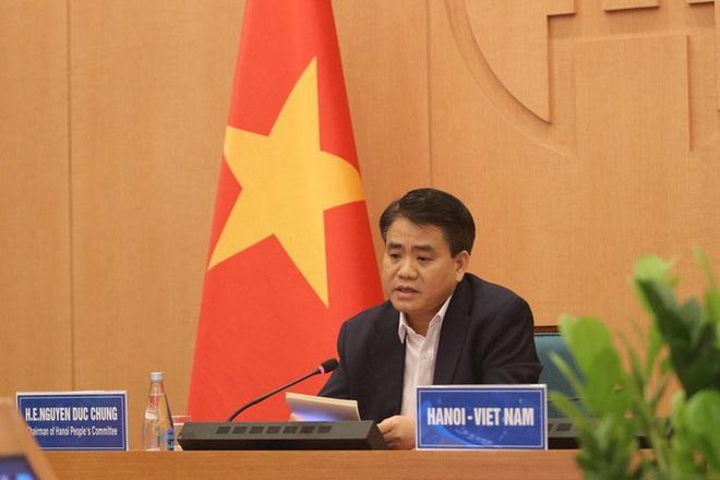 Chủ tịch Hà Nội chia sẻ kinh nghiệm chống dịch Covid-19 với Thị trưởng 40 thành phố - ảnh 1