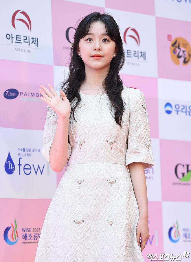 Park Bom gây sốc khuôn mặt méo mó đến lạ, hút hết truyền thông trước dàn diễn viên đình đám ở thảm đỏ Oscars Hàn Quốc - ảnh 18