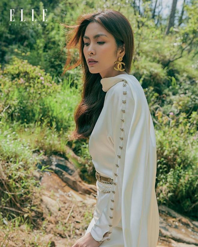 Hà Tăng xinh đẹp ngút ngàn trên bìa tạp chí, Tiên Nguyễn có ngay động thái gây chú ý vì quá mê nhan sắc chị dâu - Ảnh 5.