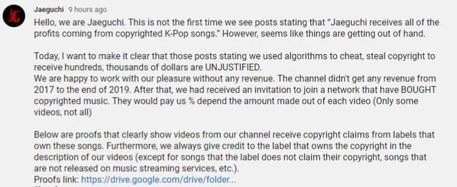 Netizen xôn xao chủ nhân kênh Youtube sở hữu loạt lyrics video trăm triệu view, bị nghi trục lợi cả tỷ đồng là người Việt Nam - ảnh 6