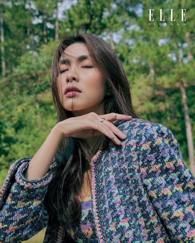 Hà Tăng xinh đẹp ngút ngàn trên bìa tạp chí, Tiên Nguyễn có ngay động thái gây chú ý vì quá mê nhan sắc chị dâu - ảnh 3