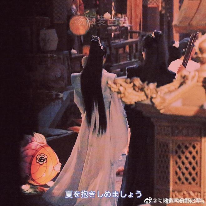 La Vân Hi và Trần Phi Vũ siêu tình tứ tại loạt ảnh ba ngọn nến lung linh ở hậu trường phim đam mỹ - ảnh 9