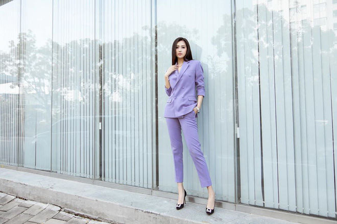 Sao Việt khi diện suit tím hot trend: Người đẹp tinh tế, người sến sẩm; nàng công sở xem cũng rút được khối kinh nghiệm - ảnh 3