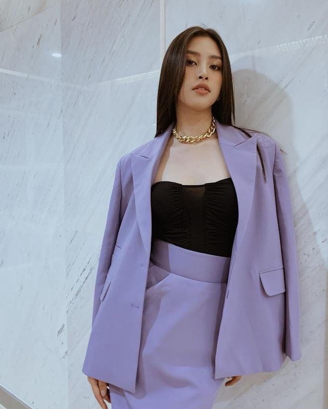 Sao Việt khi diện suit tím hot trend: Người đẹp tinh tế, người sến sẩm; nàng công sở xem cũng rút được khối kinh nghiệm - ảnh 4