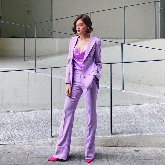 Sao Việt khi diện suit tím hot trend: Người đẹp tinh tế, người sến sẩm; nàng công sở xem cũng rút được khối kinh nghiệm - ảnh 7
