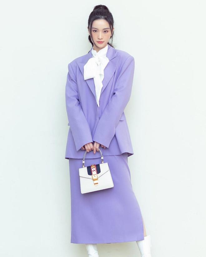 Sao Việt khi diện suit tím hot trend: Người đẹp tinh tế, người sến sẩm; nàng công sở xem cũng rút được khối kinh nghiệm - ảnh 8