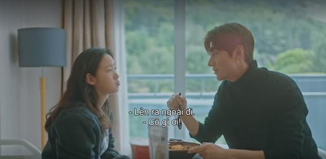 Thính xịn hơn cả hôn cổ, Lee Min Ho quấn chặt Kim Go Eun không rời ở tập 15 Quân Vương Bất Diệt - ảnh 6