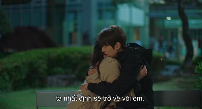 Thính xịn hơn cả hôn cổ, Lee Min Ho quấn chặt Kim Go Eun không rời ở tập 15 Quân Vương Bất Diệt - ảnh 10