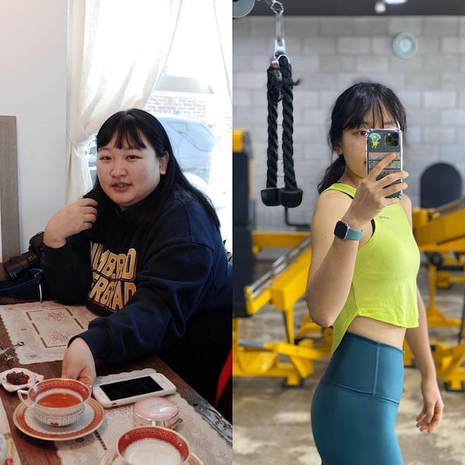 Từng béo ú na ú nần khi chạm ngưỡng 101kg, gái xinh xứ Hàn hé lộ bí quyết giảm 49kg sau hơn 1 năm khiến ai nấy đều bái phục - ảnh 2