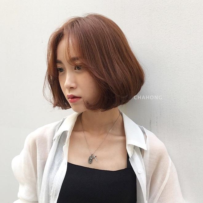 6 kiểu tóc ngắn giúp mặt nhỏ gọn như tiêm botox, các hairstylist Hàn khuyên bạn năm nay nên thử một lần - ảnh 7