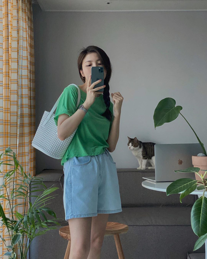 10 gợi ý mix đồ xinh mát hết cỡ từ hội gái xinh Hàn Quốc, chị em muốn lên đời phong cách hãy bắt chước ngay - ảnh 9