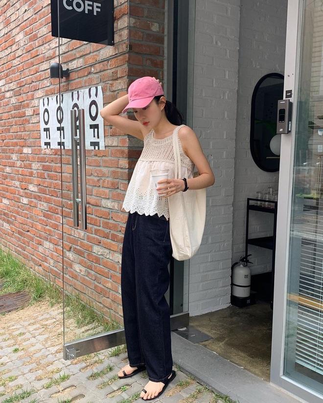 10 gợi ý mix đồ xinh mát hết cỡ từ hội gái xinh Hàn Quốc, chị em muốn lên đời phong cách hãy bắt chước ngay - ảnh 8