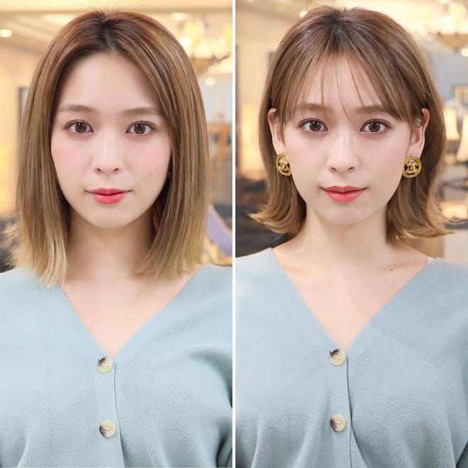 6 kiểu tóc ngắn giúp mặt nhỏ gọn như tiêm botox, các hairstylist Hàn khuyên bạn năm nay nên thử một lần - ảnh 5