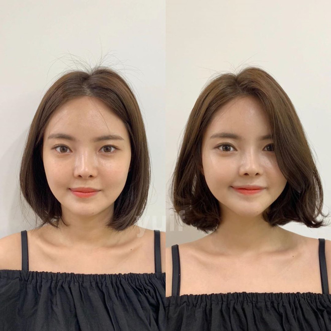 6 kiểu tóc ngắn giúp mặt nhỏ gọn như tiêm botox, các hairstylist Hàn khuyên bạn năm nay nên thử một lần - ảnh 9