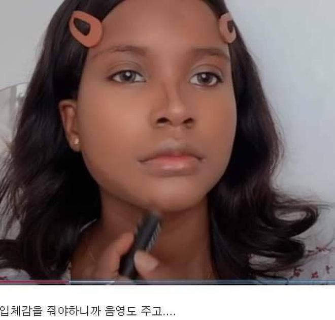 Thử makeup giống ulzzang, cô nàng da màu khiến dân tình gật gù: Style Hàn Quốc đúng là đỉnh như lời đồn! - Ảnh 4.