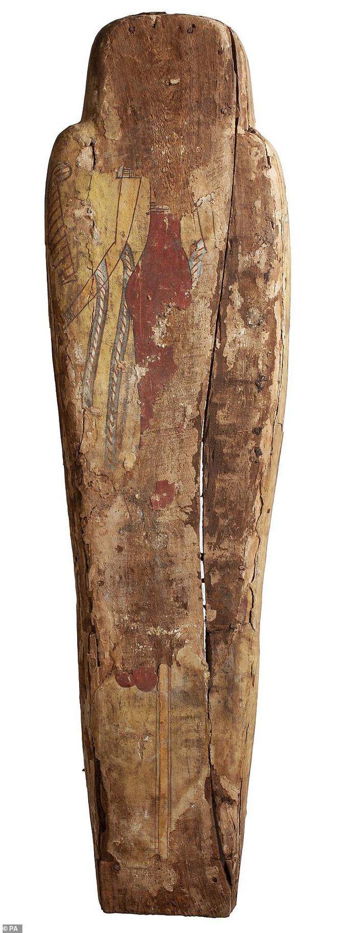 Đưa xác ướp 3.000 năm tuổi của công chúa Ai Cập ra khỏi quan tài, phát hiện bức chân dung bí ẩn cùng hàng loạt câu hỏi chưa có lời giải đáp - ảnh 3