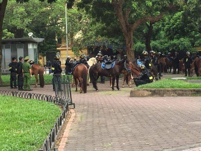 Bất ngờ với hình ảnh lực lượng Kỵ binh CSCĐ trước Lăng Bác - ảnh 3