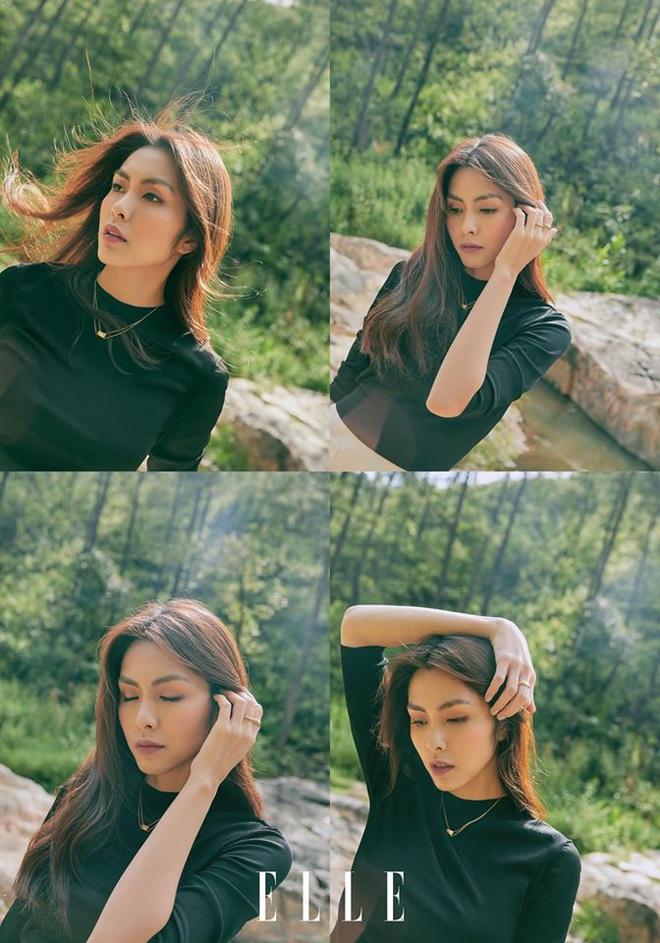Hà Tăng xinh đẹp ngút ngàn trên bìa tạp chí, Tiên Nguyễn có ngay động thái gây chú ý vì quá mê nhan sắc chị dâu - ảnh 2