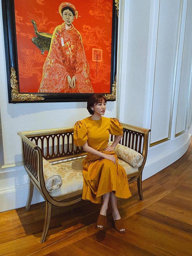 Vừa xuất hiện ở Người ấy là ai, Văn Mai Hương lại khiến netizen tranh cãi vì gu thời trang - ảnh 5