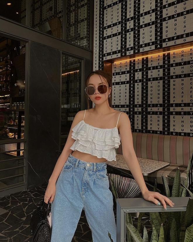 Nhìn các sao Việt diện lại đồ cũ siêu xinh, bạn sẽ học được bao cách mix&match và không cần mua thêm áo quần cho tốn tiền - ảnh 11