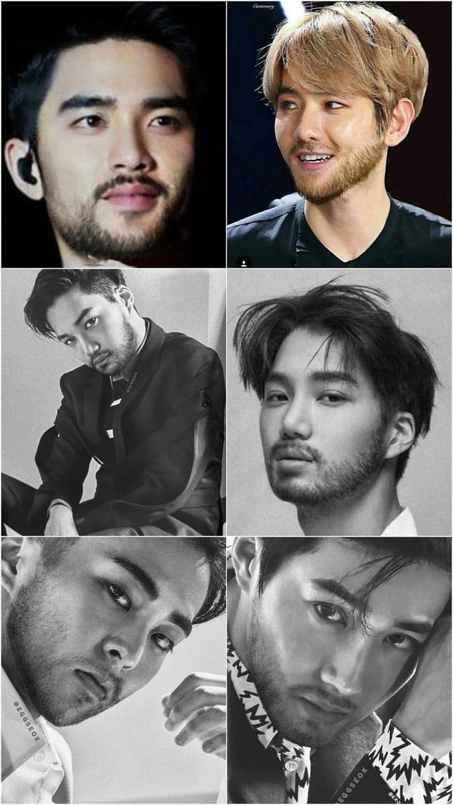 """Quen ngắm idol Hàn """"nhẵn mịn"""" bấy lâu, giờ phải thấy thần tượng nuôi râu mà netizen """"sốc tận óc"""" - Ảnh 2."""