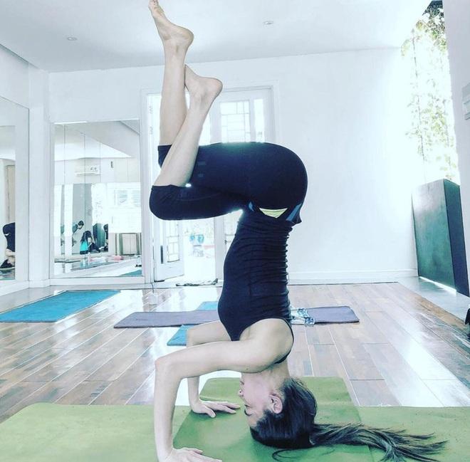Hà Hồ khoe duy trì tập luyện yoga, đủ sức cân toàn động tác khó: Thì ra bí quyết giữ visual đỉnh cao của mẹ bầu là đây! - ảnh 6