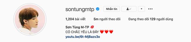 Sơn Tùng chính thức thành ông hoàng MXH với kỷ lục mới: 5 triệu follower cao nhất Việt Nam trên Instagram - ảnh 1
