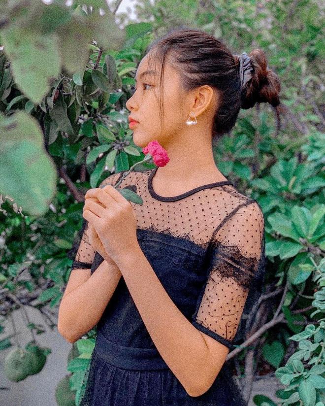 Lọ Lem - con gái lớn nhà MC Quyền Linh chứng minh: Có một vẻ đẹp cam thường không hại được, xài app để cho vui - ảnh 8