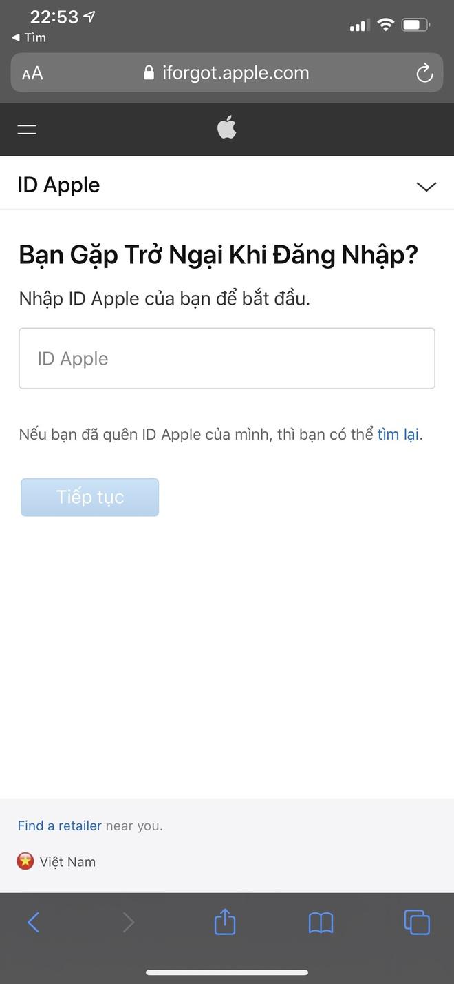 Đầu óc lú lẫn hay quên mật khẩu Apple ID, lưu ngay bí kíp lấy lại chỉ trong một nốt nhạc - ảnh 6