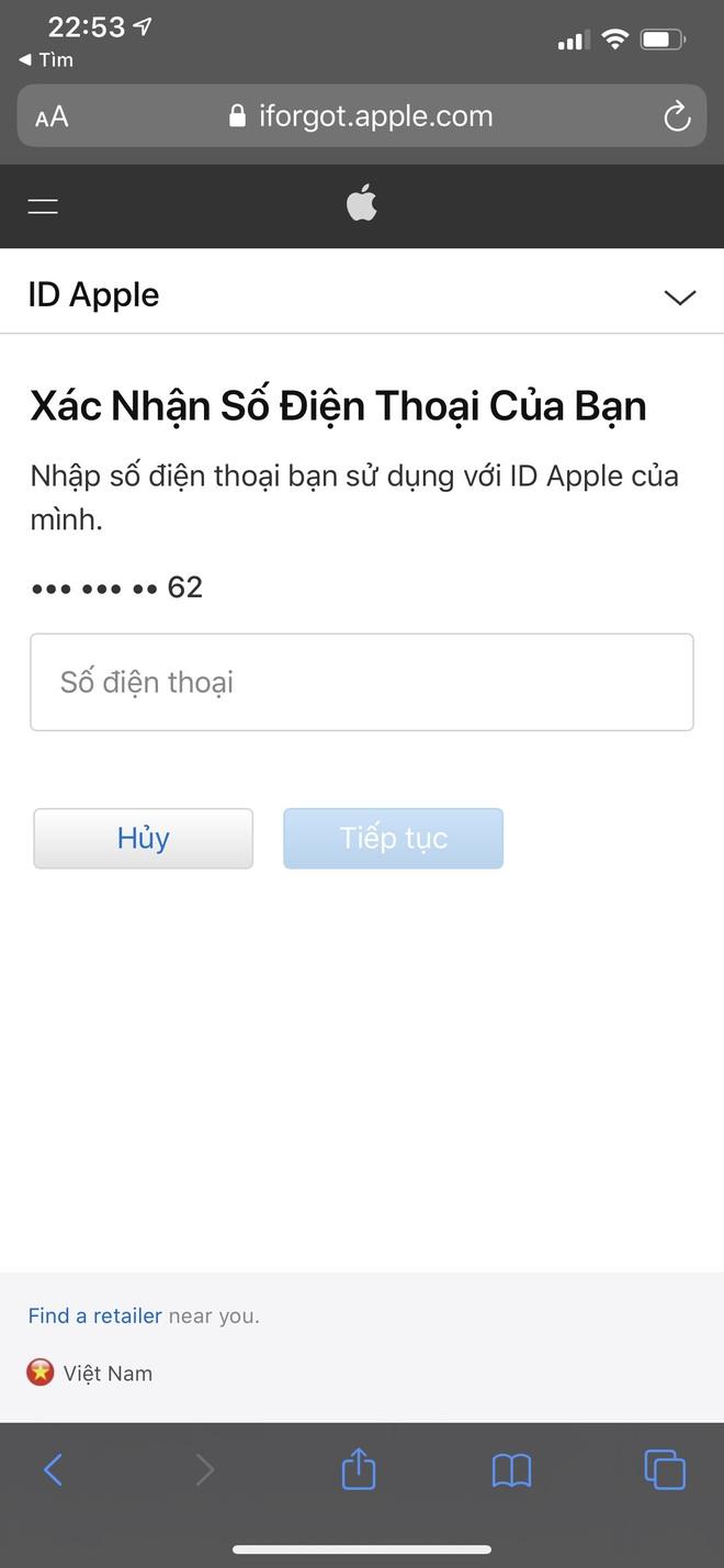 Đầu óc lú lẫn hay quên mật khẩu Apple ID, lưu ngay bí kíp lấy lại chỉ trong một nốt nhạc - ảnh 7