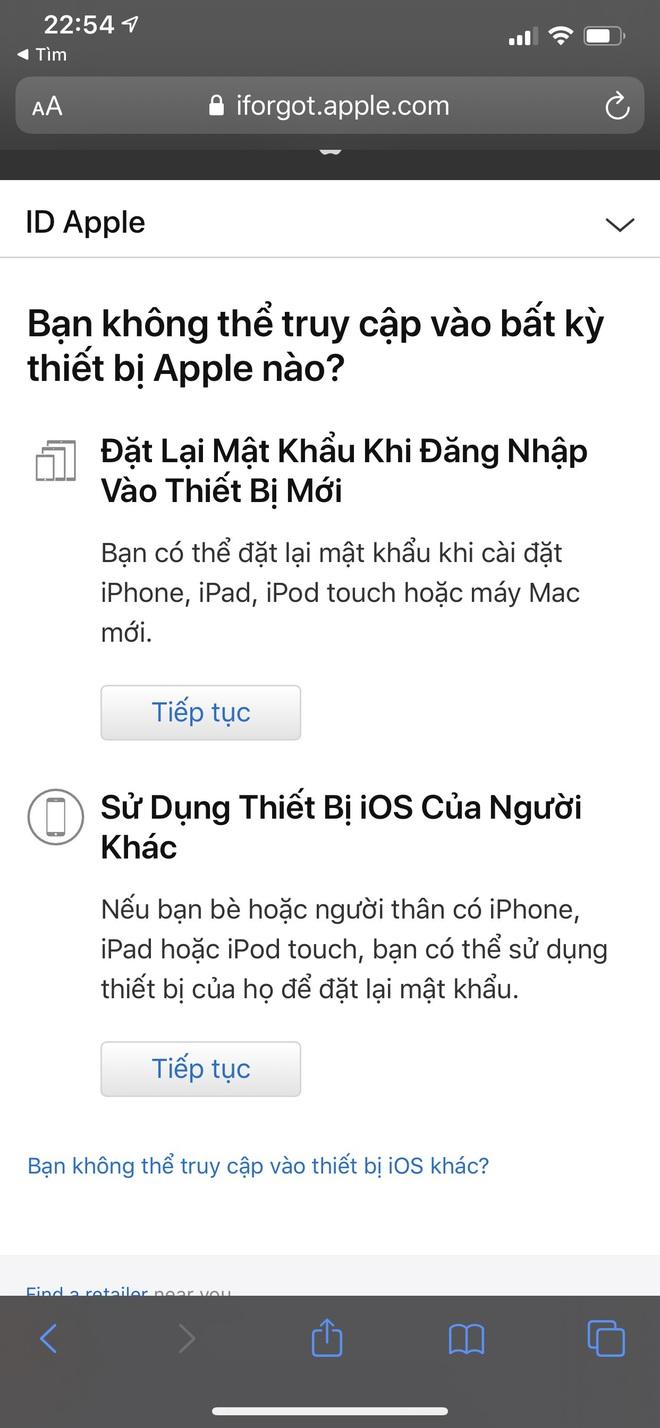 Đầu óc lú lẫn hay quên mật khẩu Apple ID, lưu ngay bí kíp lấy lại chỉ trong một nốt nhạc - ảnh 8
